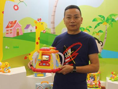以益智玩具帶動品牌創新發展 專訪匯樂玩具總經理陳澤強