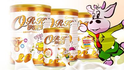 欧瑞可配方奶粉系列