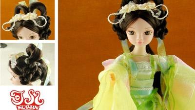 可兒娃娃中國古裝范兒