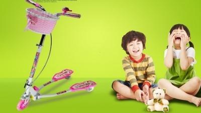 炫梦奇儿童滑板车