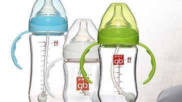 好孩子婴儿玻璃奶瓶防胀气
