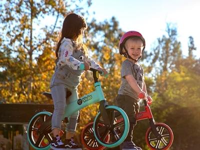 锻炼孩子协调力 我就选Y・Volution菲乐骑平衡车