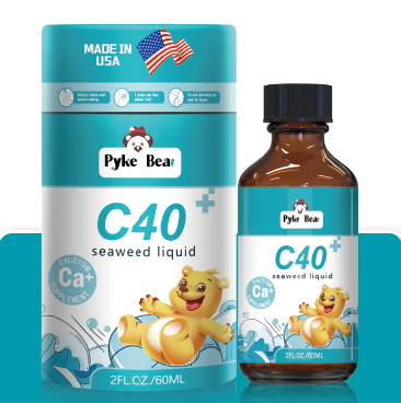 派克熊C40海藻饮液(钙滴剂) 全国空白区域火爆招商中