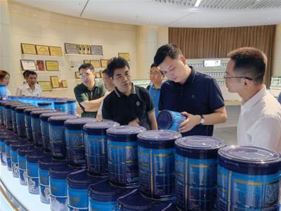 湖南省領導蒞臨歐比佳乳業調研指導