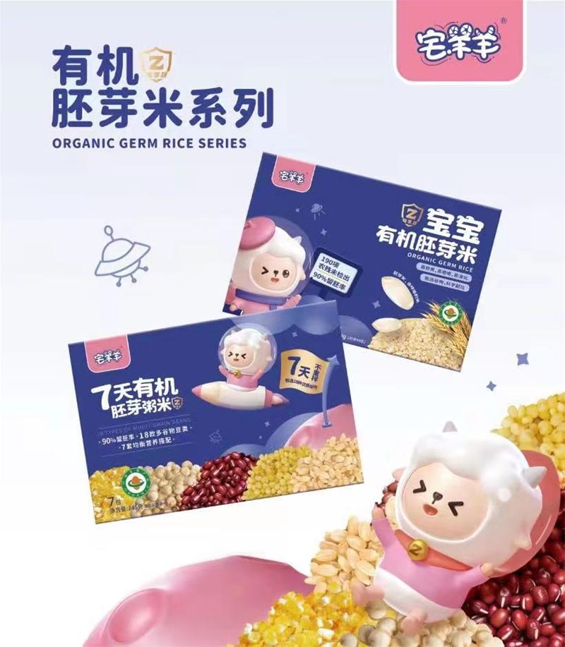 宅羊羊盛裝亮相2021上海CBME,以父愛之名堅守,嚴把寶寶輔食安全
