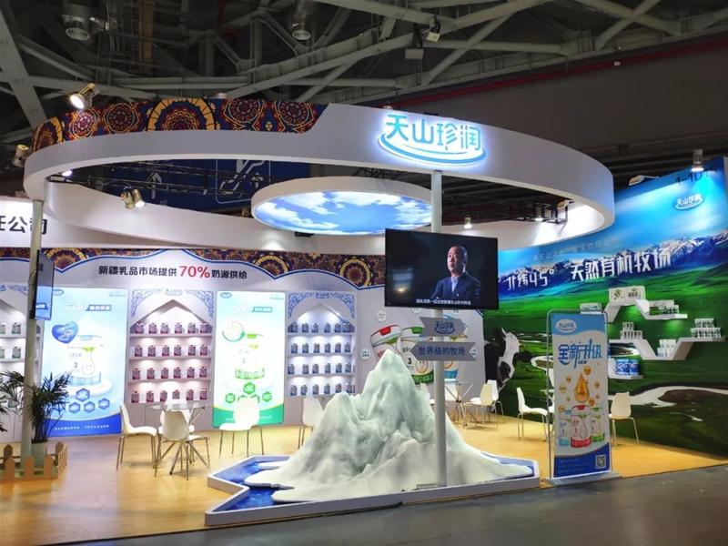 华丽收官|2021上海CBME孕婴童展圆满落幕 新疆天山云牧乳业满受赞誉而归!