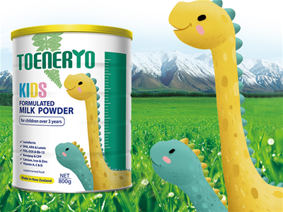 多能多啟臻高兒童奶粉 優質奶源地,提供更好營養