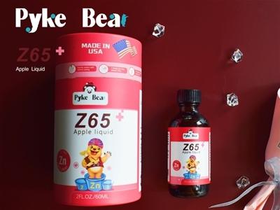 派克熊Z65蘋果飲液,專注貼心護成長