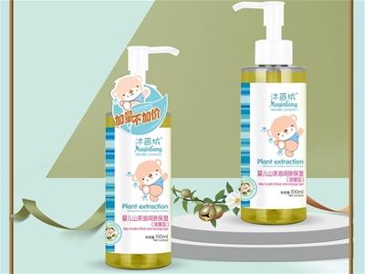 純正茶油 愛撫新生|沐茵坊嬰兒山茶油潤膚保濕液 讓寶寶肌膚水潤又光澤通透