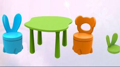 贝氏儿童桌椅凳