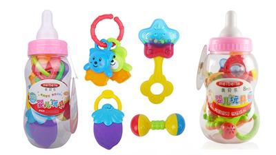 美贝乐奶瓶系列玩具