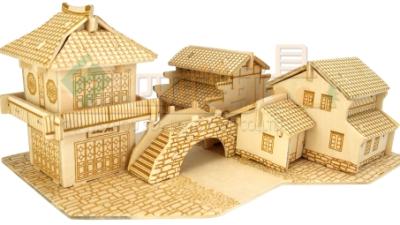 四联 DIY 3D拼图