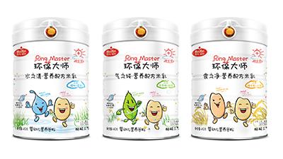 韩式妈妈环葆大师营养米乳