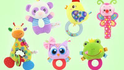 景寶玩具丨搖鈴牙膠系列