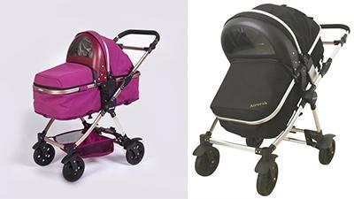 愛瑞可智能空氣凈化防霧霾嬰兒車/手推車
