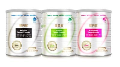 金薄金健英智酸奶粉系列