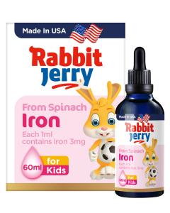 小兔杰瑞菠菜浓缩铁滴剂