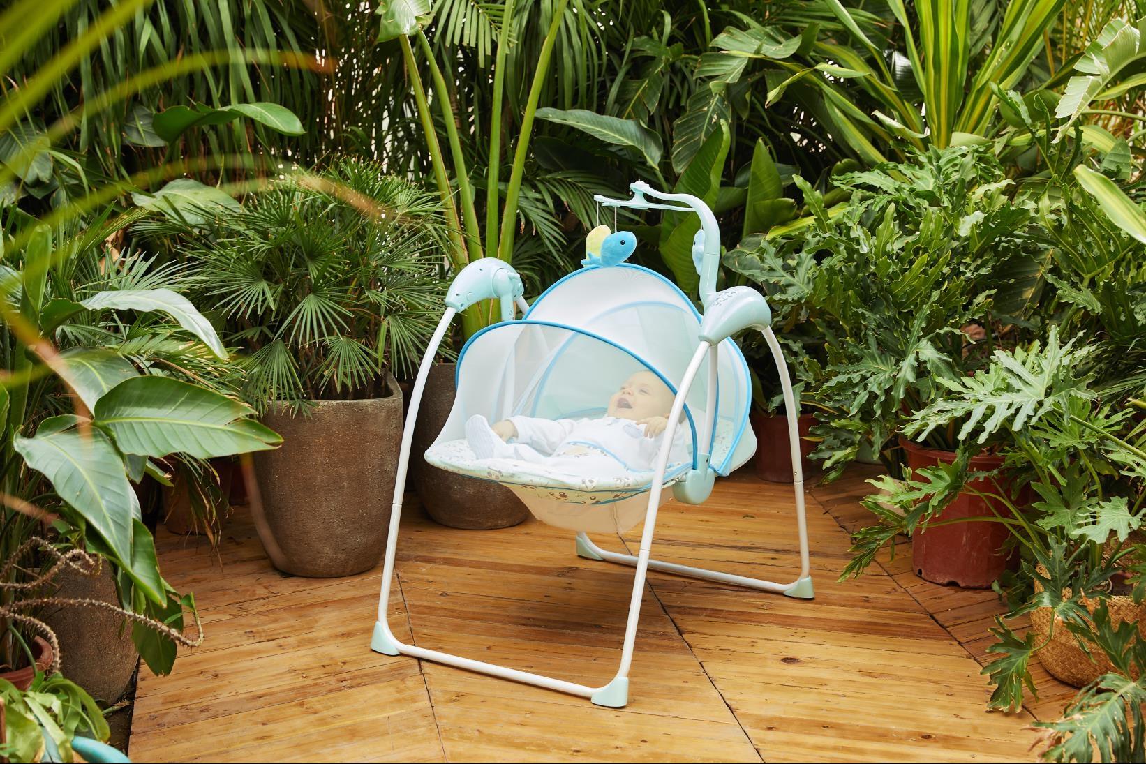 WESHIONS温纯丨婴儿童电动摇椅