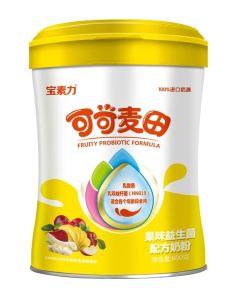 寶素力可可麥田果味益生菌奶粉