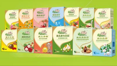孩兒樂中藥養護營養食品系列