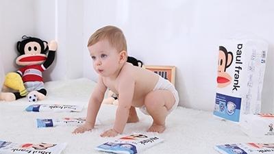 大嘴猴国际潮牌纸尿裤,风扉全球的外来之星