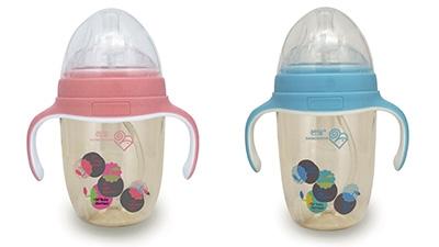 若寶ppsu廣口顯溫奶瓶系列
