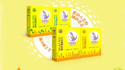 谷愛新生小米營養米粉(盒裝)