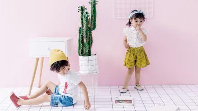 小小手 夏季男女童外出服