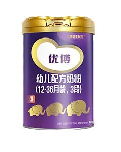 圣元优博幼儿配方奶粉(12-36月龄 3段)