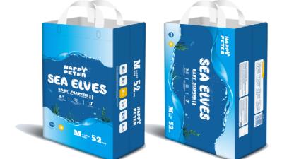 SEA ELVES海精灵弱酸性真丝纸尿裤系列