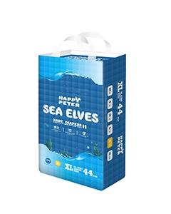 SEA ELVES海精灵弱酸性真丝纸尿裤XL码