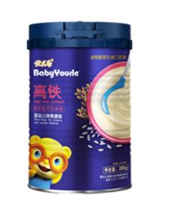 優兒樂高鐵高蛋白配方米粉