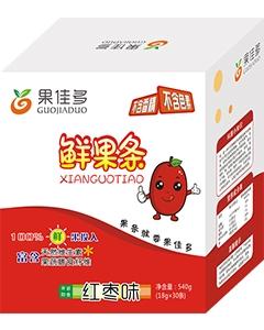 果佳多鲜果条(红枣味)