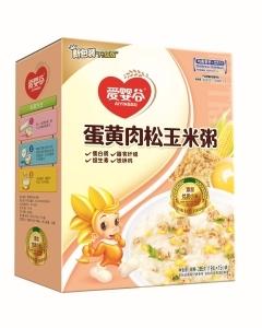 愛嬰谷蛋黃肉松玉米粥
