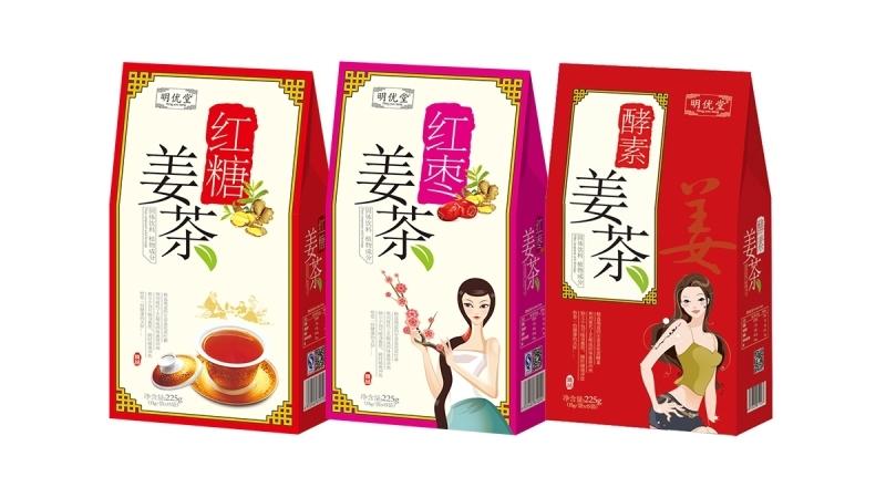 澳贝卡姜茶系列