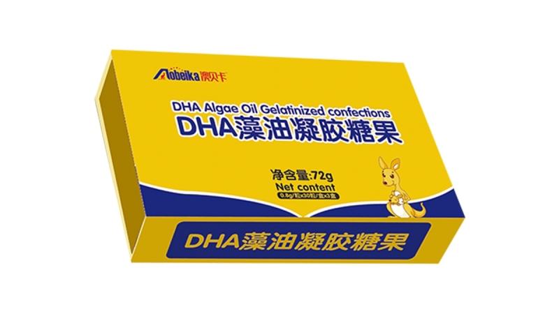 澳贝卡DHA藻油凝胶糖果系列