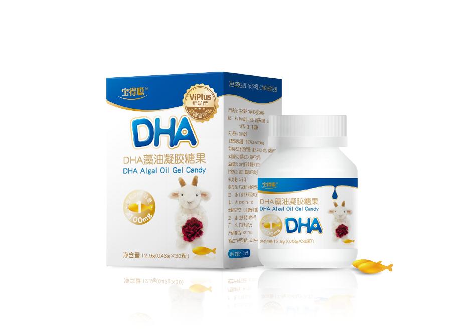 维爱佳DHA藻油凝胶糖果