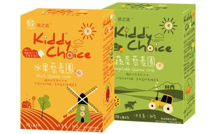 本丁kiddychoice孩之选藜麦圈系列