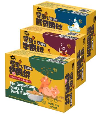 本丁童味屋坚果肉松系列