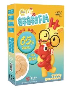 本丁kiddychoice孩之选鲜虾片