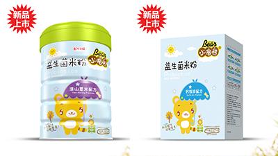 小淘熊益生菌米粉系列