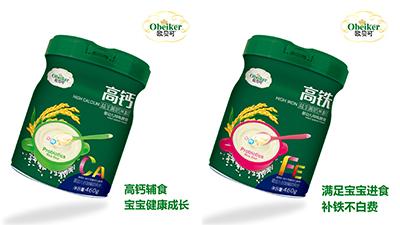 歐貝可益生菌奶米粉系列