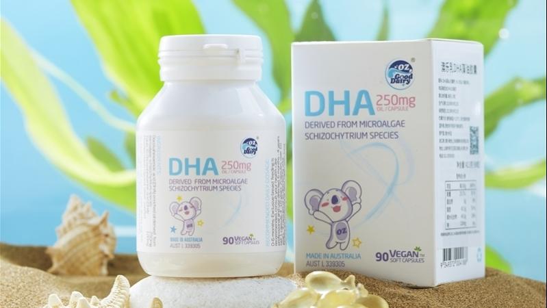 澳樂乳DHA系列