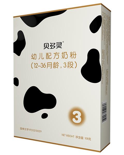 紐菲特貝多靈奶粉108g3段