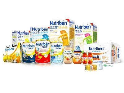 幼之本Nutribén婴幼儿奶粉及辅食产品